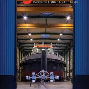 Nora B in Tug and OSV magazine